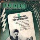 Radios antiguas: RADIOENCICLOPEDIA Nº 5 . TRANSFORMADORES Y AUTO TRANSFORMADORES (BRUGUERA, 1944). Lote 72600531