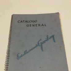 Radios antiguas: CATALOGO GENERAL RADIO ESTABLECIMIENTO GARIBAY. Lote 75644165