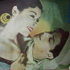 Radios antiguas: REVISTA DE RADIO SINTONIA 15 ENERO 1951 AÑO V N°89- ROSARIO Y ANTONIO FIGURAS DEL BAILE ESPAÑOL. Lote 76602185