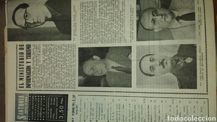 Radios antiguas: REVISTA DE RADIO SINTONIA- AÑO V AGOSTO 1951 N°102 - SALLY FORREST - Foto 2 - 76603250