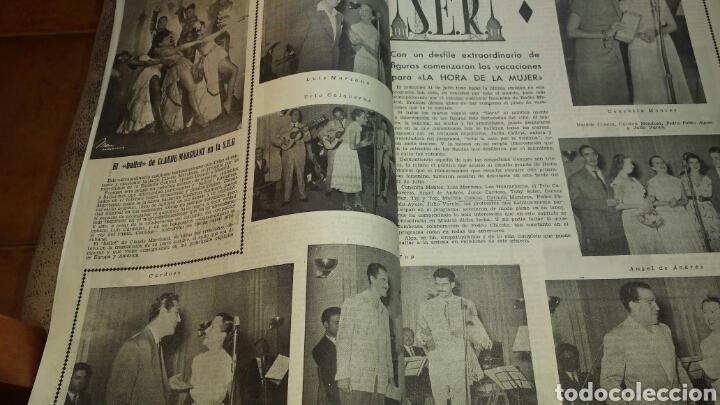 Radios antiguas: REVISTA DE RADIO SINTONIA- AÑO V AGOSTO 1951 N°102 - SALLY FORREST - Foto 3 - 76603250