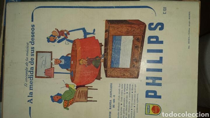 Radios antiguas: REVISTA DE RADIO SINTONIA 1SPBRE 1950. AÑO IV N°79- GRETA GYNT ( autógrafo)- CARMEN SEVILLA - Foto 6 - 76603597