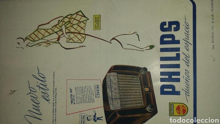 Radios antiguas: REVISTA DE RADIO SINTONIA - MARIA FELIX- AÑO V 1 FEBRERO 1951 N°89 - Foto 4 - 76604029