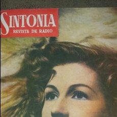 Radios antiguas: REVISTA DE RADIO SINTONIA -PASTORA PEÑA- 16 JUNIO 1950 AÑO IV N°74. Lote 76604263