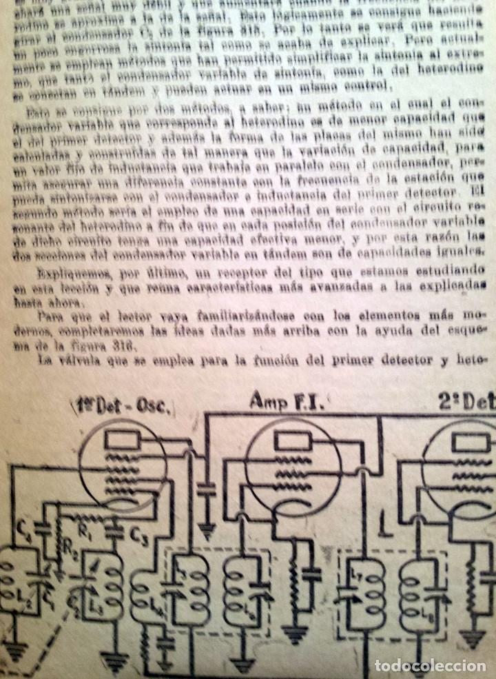 Radios antiguas: 48 Lecciones de Radio Tomo II - Editorial Hobby, impreso en Argentina 1950, ver índice - Foto 4 - 76819359