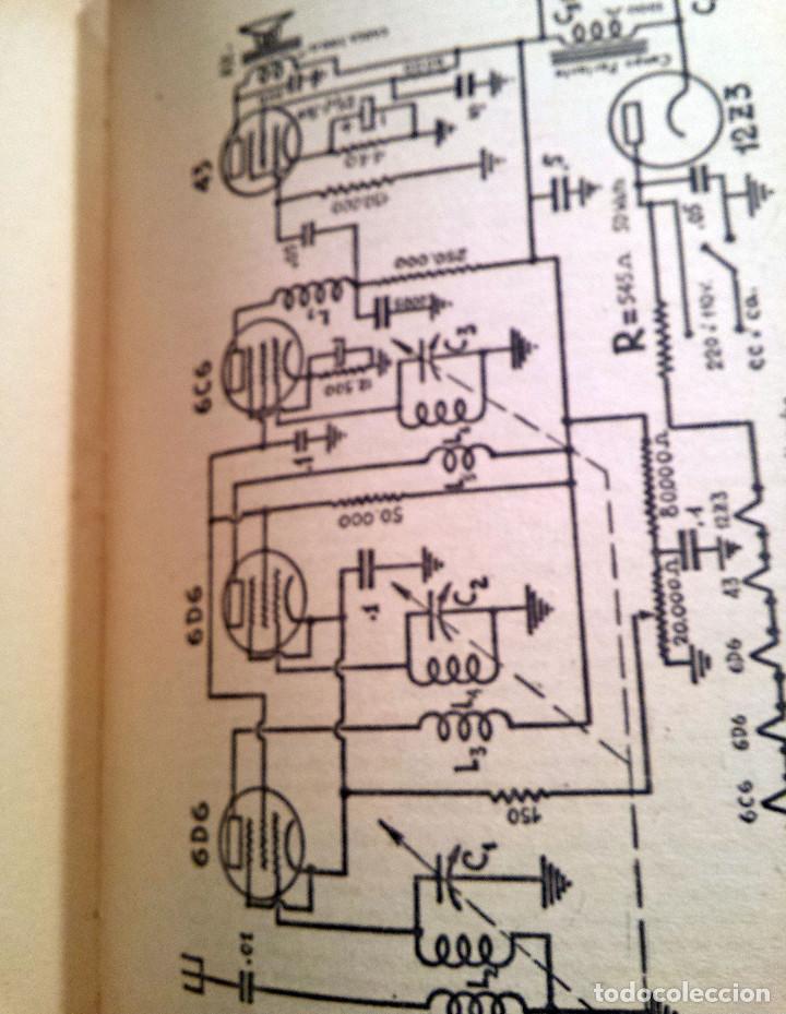 Radios antiguas: 48 Lecciones de Radio Tomo I - Editorial Hobby, impreso en Argentina 1950, ver índice - Foto 5 - 76820011