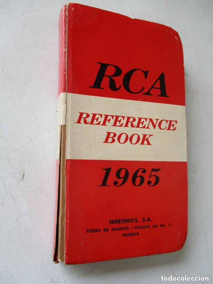 RCA-REFERENCE BOOK-1965-IBERONICS, S.A.-MAD.RADIO CORPORATION OF AMERICA.ELEC. COMP. AND DEVICES (Radios, Gramófonos, Grabadoras y Otros - Catálogos, Publicidad y Libros de Radio)