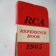 Radios antiguas: RCA-REFERENCE BOOK-1965-IBERONICS, S.A.-MAD.RADIO CORPORATION OF AMERICA.ELEC. COMP. AND DEVICES. Lote 77672406