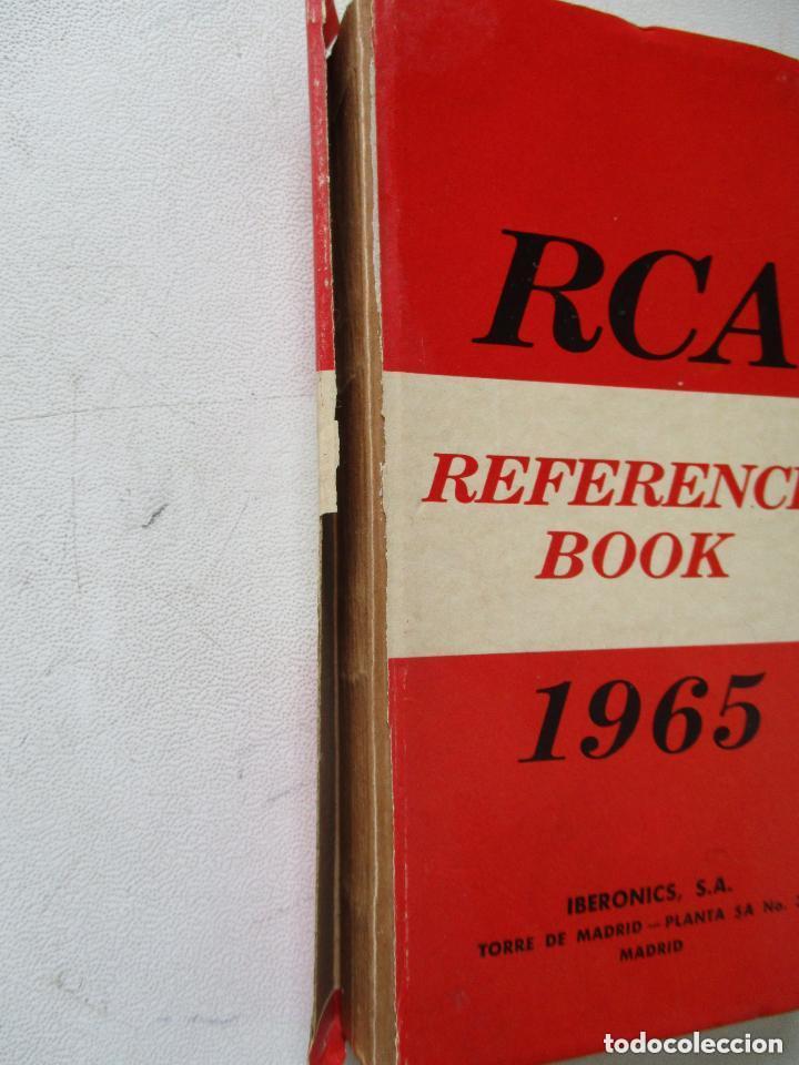 Radios antiguas: RCA-REFERENCE BOOK-1965-IBERONICS, S.A.-MAD.RADIO CORPORATION OF AMERICA.ELEC. COMP. AND DEVICES - Foto 12 - 77672406
