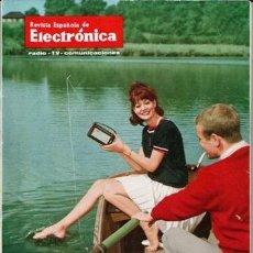 Radio antiche: 161 EJEMPLARES DE LA REVISTA ESPAÑOLA DE ELECTRÓNICA, Nº 116 A 282. Lote 79032525