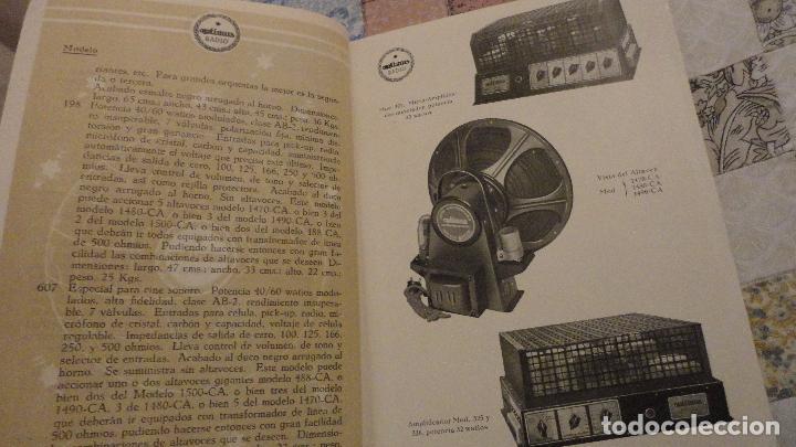 Radios antiguas: OPTIMUS RADIO.PLA HERMANOS Y Cia.GERONA.AMPLIFICADORES.ALTAVOCES.BOBINAS ETC.AÑOS 40 - Foto 6 - 79581893