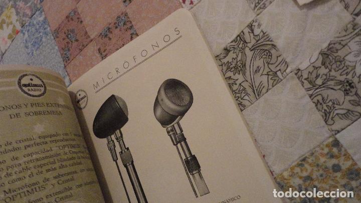 Radios antiguas: OPTIMUS RADIO.PLA HERMANOS Y Cia.GERONA.AMPLIFICADORES.ALTAVOCES.BOBINAS ETC.AÑOS 40 - Foto 10 - 79581893