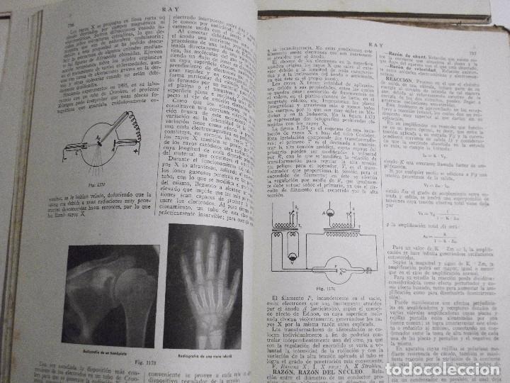Radios antiguas: DICCIONARIO ENCICLOPEDICO DE RADIOELECTRICIDAD POR F. MAYMO GOMIS NUM 6 Y 7 - Foto 4 - 81013736