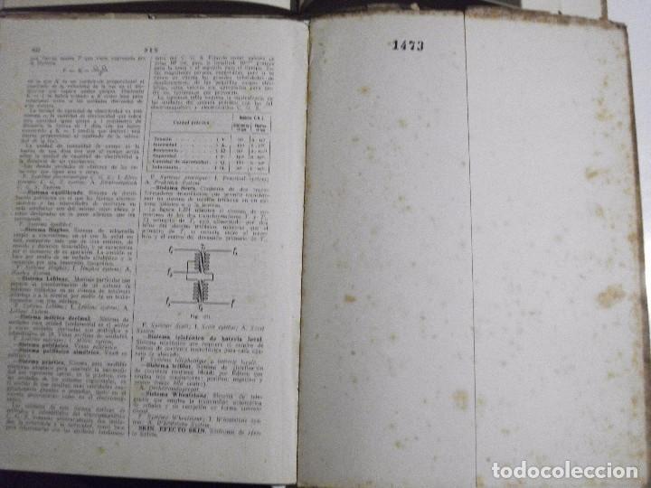 Radios antiguas: DICCIONARIO ENCICLOPEDICO DE RADIOELECTRICIDAD POR F. MAYMO GOMIS NUM 6 Y 7 - Foto 7 - 81013736