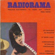 Radios antiguas: RADIORAMA Nº 9 - AGOSTO DE 1968. Lote 82869292
