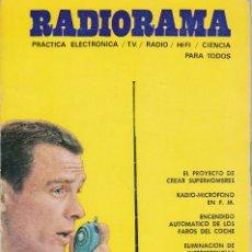 Radios antiguas: RADIORAMA Nº 10 - SEPTIEMBRE 1968. Lote 82869588