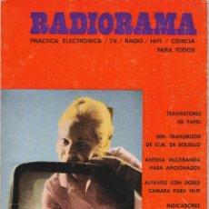 Radios antiguas: RADIORAMA Nº 11 - OCTUBRE 1968. Lote 82869716