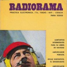 Radios antiguas: RADIORAMA Nº 12 - NOVIEMBRE 1968. Lote 82869836