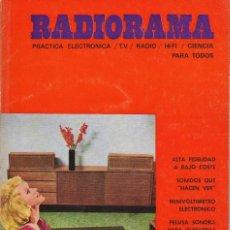 Radios antiguas: RADIORAMA Nº 13 - DICIEMBRE 1968. Lote 82869996