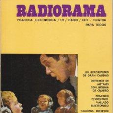 Radios antiguas: RADIORAMA Nº 14 - ENERO 1969. Lote 82870120