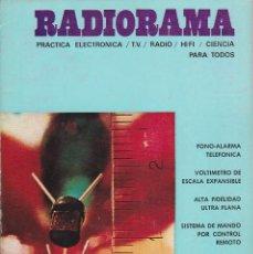 Radios antiguas: RADIORAMA Nº 17 - ABRIL 1969. Lote 82870236