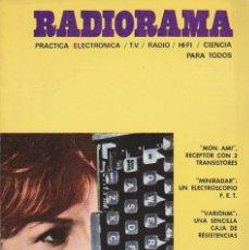 Radios antiguas: RADIORAMA Nº 18 - MAYO 1969. Lote 82870336