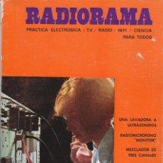 Radios antiguas: RADIORAMA Nº 20 - JULIO 1969. Lote 82870552