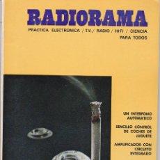 Radios antiguas: RADIORAMA Nº 24 - NOVIEMBRE 1969. Lote 82870640