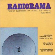 Radios antiguas: RADIORAMA Nº 25 - DICIEMBRE 1969. Lote 82870780