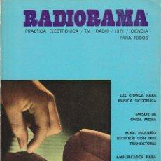 Radios antiguas: RADIORAMA Nº 26 - ENERO 1970. Lote 82870872