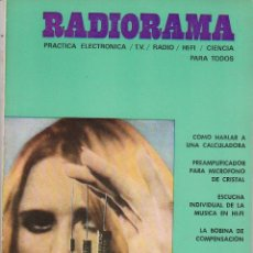 Radios antiguas: RADIORAMA Nº 27 - FEBRERO 1970. Lote 82870976