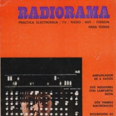 Radios antiguas: RADIORAMA Nº 28 - MARZO 1970. Lote 82871096