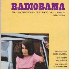 Radios antiguas: RADIORAMA Nº 33 - AGOSTO 1970. Lote 82871472