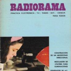 Radios antiguas: RADIORAMA Nº 34 - SEPTIEMBRE 1970. Lote 82871620