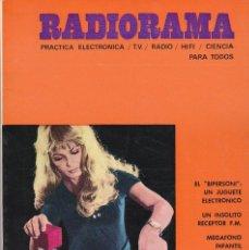 Radios antiguas: RADIORAMA Nº 35 - OCTUBRE 1970. Lote 82871732