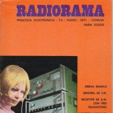 Radios antiguas: RADIORAMA Nº 38 - ENERO 1971. Lote 82871876