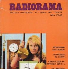 Radios antiguas: RADIORAMA Nº 42 - MAYO 1971. Lote 82872008