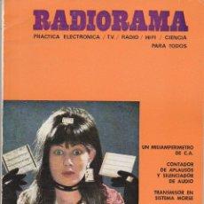 Radios antiguas: RADIORAMA Nº 44 - JULIO 1971. Lote 82872220