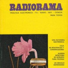 Radios antiguas: RADIORAMA Nº 67 - JUNIO 1973. Lote 82872360