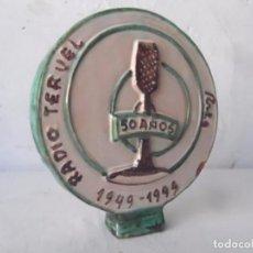 Radios antiguas: RADIO TERUEL CERAMICA 50 ANIVERSARIO 1949 - 1999. Lote 82967792