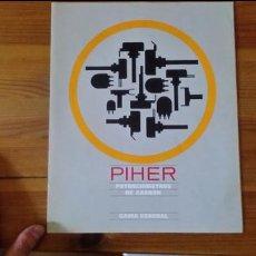 Radios antiguas: PIHER - POTENCIOMETROS DE CARBON - GAMA GENERAL. Lote 85680536
