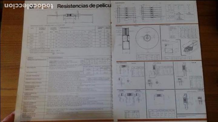 Radios antiguas: PIHER - RESISTENCIAS DE PELÍCULA DE CARBÓN - Foto 2 - 85680436