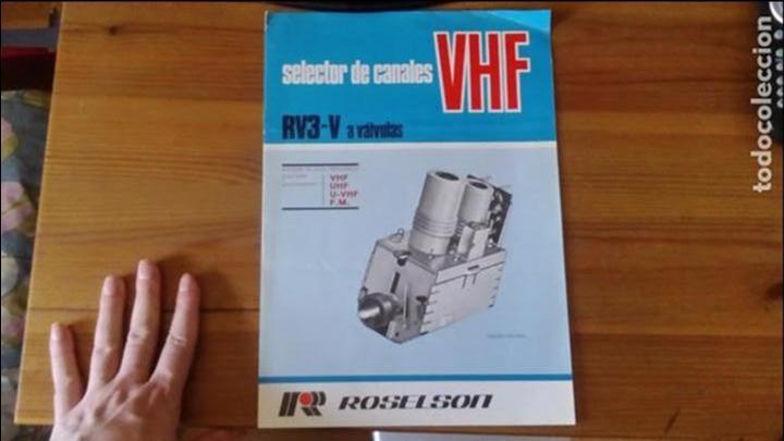 ROSELSON - SELECTOR DE CANALES VHF - RV3-V A VALVULAS segunda mano