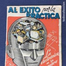 Radios antiguas: AL EXITO POR LA PRACTICA, LIBRO PUBLICITARIO DE ESCUELA RADIO MAYMÒ -1964. Lote 87855640