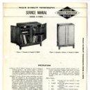 Radios antiguas: PHILCO - G-1909S SERVICE MANUAL HI-FIDELITY CONSOLE ORIGINAL BOOK. Lote 90515025