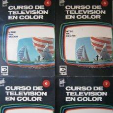 Radios antiguas: CURSO DE TELEVISION EN COLOR REDE 4 5 6 7 REDE 1967. Lote 91660810