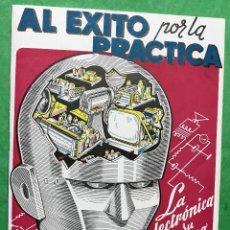 Radios antiguas: CATALOGO ESCUELA RADIO MAYMÓ - AL ÉXITO POR LA PRÁCTICA - AÑO 1958. Lote 151515361