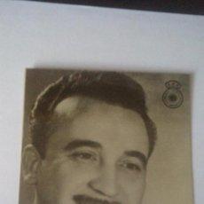 Radios antiguas: FOTO PUBLICITARIA CADENA SER (UNION DE RADIOYENTES) - JUAN DE TORO. Lote 93582255