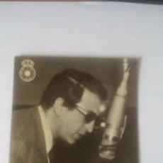 Radios antiguas: FOTO PUBLICITARIA CADENA SER (UNION DE RADIOYENTES) - ALBERTO OLIVERAS. Lote 93582480