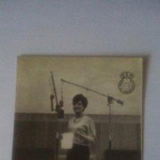 Radios antiguas: FOTO PUBLICITARIA CADENA SER (UNION DE RADIOYENTES) - CARMEN PEREZ DE LAMA. Lote 93582495